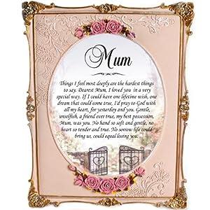 Memorial Mum Personalised Gift Frame 8