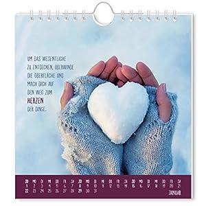 Herzenswünsche 2017: Postkartenkalender