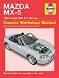 Mazda Mx-5 1.6i 1.8i Mk 1 Mk 2 Mk2½ NA & NB Series 1989 - Sept 2005 Haynes Manual