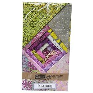 "Timeless Treasures Tonga Treats Batik GELATO 5"" Fabric Quilting Squares"