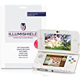 iLLumiShield - New Nintendo 3DS Screen Protector {2015} Japanese Ultra Clear HD Film w/ Anti-Bubble and Anti-Fingerprint - High Quality Shield - Lifetime Warranty - [3-Pack] {Standard Version}
