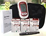 110 Accu Chek Performa Test Strips Plus Glucometer Kit Sugar Test Level Diabtes Supply