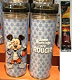 Disney Parks Mickey Mouse Mornings Travel Mug/Tumbler - Disney Parks Exclusive & Limited Availability + Arabica Single Cup Instant Coffee Included