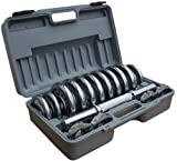 ScSPORTS Chrome Dumbbell Case Set - 15kg