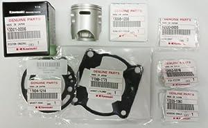 Kawasaki KX85 KX 85 Piston Ring Gasket Kit Top End Rebuild 2001-2012