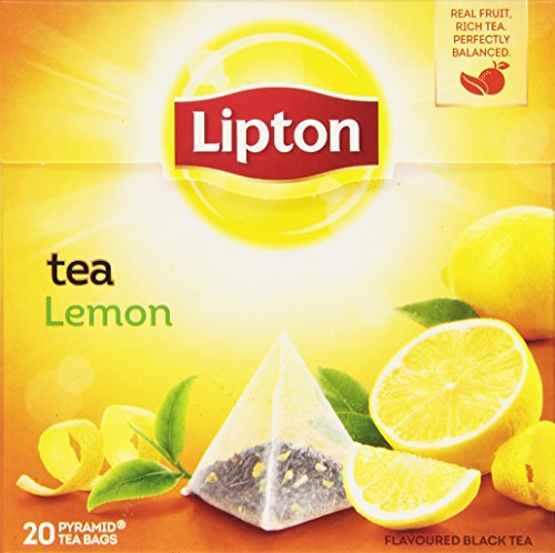 Lipton - Tè al Limone - 4 confezioni da 20 filtri [80 filtri]