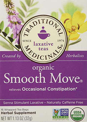 Traditional Medicinals Organic Smooth Move Herbal Tea 2-pack 32 Count 1.13 OZ - 1