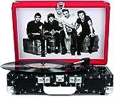レトロなトランク型 ポータブルターンテーブル スピーカー内蔵 One Direction Crosley【並行輸入】