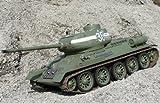 Produktbild von RC Panzer Russischer T34/85 Infrarot Schuss Länge 50cm