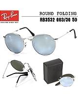 レイバン サングラス RayBan ラウンド 折りたたみ RB3532 003/30 50 メンズ レディース【国内正規品・保証書付】