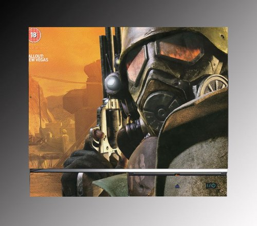Gamerz Skinz Fallout New Vegas Fps Rpg Game Vinyl Decal Skin Protector Cover 3 For Sony Playstation Ps3