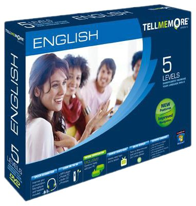 TELL ME MORE English v10 5 levels (PC DVD)