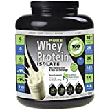 Pure Whey Protein Isolate Instanized (25/27.7g):MADE IN USA: NEW 100% Non-Protein Spiking: Clean Label: NO PROTEIN...