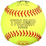 Trump® FP-12-Y-ASA 12 Inch 47/375 NFHS Approved Fastpitch ASA Leather Softball (Sold by the DZ.)