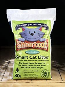 Smart Cat Woodland Fresh Cat Litter 30 LITRE (30kg) (TP)(S30)