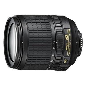 Nikon 18-105mm f/3.5-5.6 AF-S DX Vibration Reduction ED Nikkor Wide-Angle Autofocus Zoom Lens Grey Market