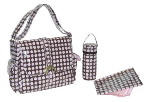 kalencom-fashion-borsa-porta-pannolini-per-il-cambio-borsa-della-mamma-laminata-con-fibbia-pois-cele