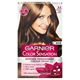 Garnier Color Sensation Intense Permanent Colour Cream (6.0 Precious Light Brown)