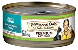 Newmans Own Organics Turkey Formula for Cats, 5.5-Ounce Cans (Pack of 24)