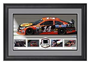 Tony Stewart Framed Panoramic with Race-Used Tire-Limited Edition of 500 - - Memories... by Sports Memorabilia