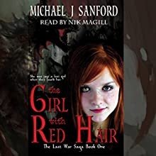 The Girl with Red Hair Audiobook by Michael J Sanford Narrated by Nik Magill