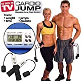 Iron Gym Digital Ropeless Jump Rope- Cardio Electronic Indoor & Outdoor Wireless Cordless Skipping Calorie & Jump Counter