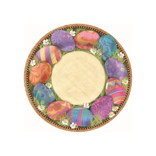 Easter Elegance 7in Dessert Plates Party Accessory (8 count)