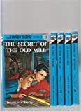img - for The Hardy Boys Box Set of 1 2 3 4 5 ; The Tower Treasure, The House on the Cliff, The Secret of the Old Mill, The Missing Chums, Hunting for Hidden Gold book / textbook / text book