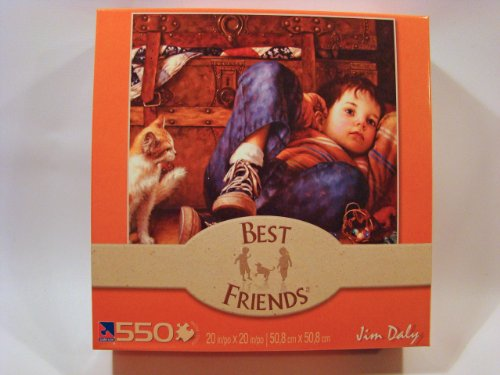 Best Friends 550 Piece Jigsaw Puzzle: Winding Down