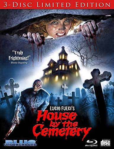 Blu-ray : House By The Cemetery (3 Discos)