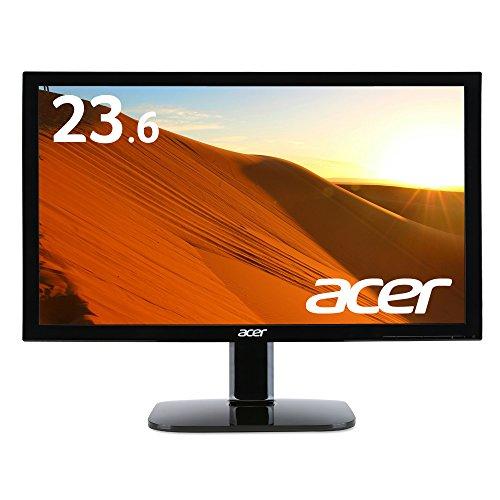 Acer ディスプレイ モニター KA240HQAbid 23.6インチ/フルHD/5ms/HDMI端子付