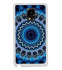 ifasho Animated Pattern design colorful flower in royal style Back Case Cover for Samsung Galaxy Note 4 Edge