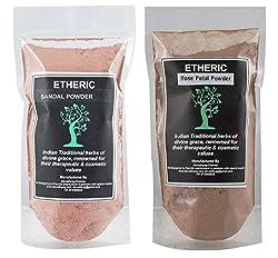 Etheric Sandal + Rose Petal Combo (100+100 Gm)