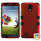Product B00CQ9AQ7A - Product title MyBat SAMSIVHPCTUFFSO006NP Titanium Rugged Hybrid TUFF Case for Samsung Galaxy S4 - Retail Packaging - Red/Black