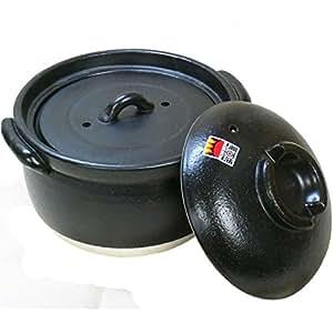 Amazon.com: [Plump rice pot] 3 Go cook double lid Yokkaichi perpetuity