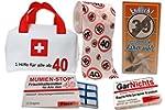 Erste Hilfe Tasche zum 40. Geburtstag...
