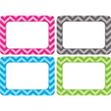 Teacher Created Resources Chevron Name Tags - Multi Pack