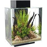 Fluval Edge 12-Gallon Aquarium with 42-LED Light, Black