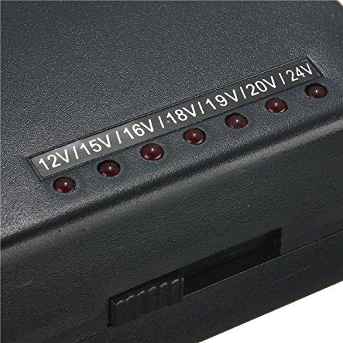 12V/ 15V/ 16V/ 18V/ 19V/ 20V/ 24V Output Universal AC DC Power Adapter Charger (Portable Power Plant compare prices)