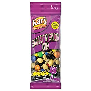 Nuts Caddy Sweet N Salty Mix 2 oz Packets 24 Packets/Caddy