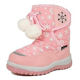 Nova Toddler Girl\'s Winter Snow Boots NF Girl 508 Pink 9