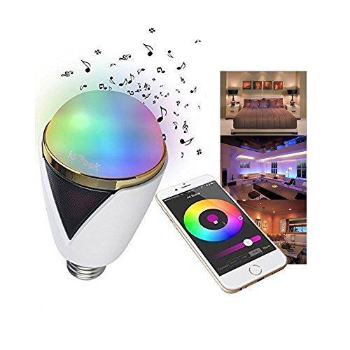 Led Bluetooth Haute Iegeek Smart Avec Ampoule Lampe Parleur Remote dxerCoWQBE