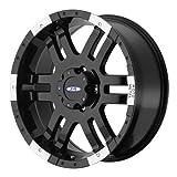 "Moto Metal Series MO951 Gloss Black Machined Wheel (18x9""/5x5.5"")"