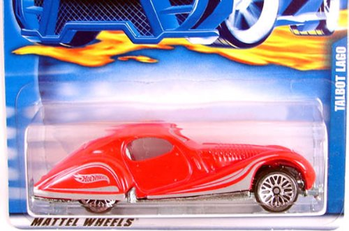 #2001-173 Talbot Lago Collectible Collector Car Mattel Hot Wheels 1:64 Scale - 1