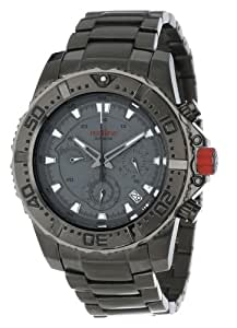 red line Men's RL-50030VK-GUN-014 Stainless Steel Watch with Gray Dial