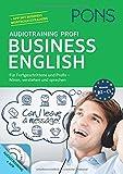PONS Audiotraining Profi Business English: Für Fortgeschrittene und Profis - hören, verstehen und sprechen