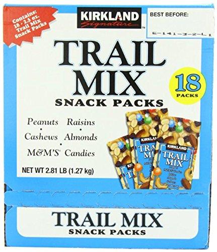 Signature Trail Mix Snacks, Peanut, M7M Candies, Raisins, Almonds, Cashews, 2.81 - Pound (2 Boxes) (Kirkland Mix Nuts compare prices)