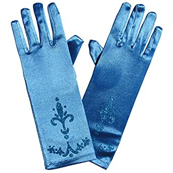 Coronation Gloves - Kids Frozen Princess Halloween Costume or Dance Accessory