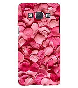 Printvisa Premium Back Cover Rose Petals Pattern Design For Samsung Galaxy A3::Samsung Galaxy A3 A300F