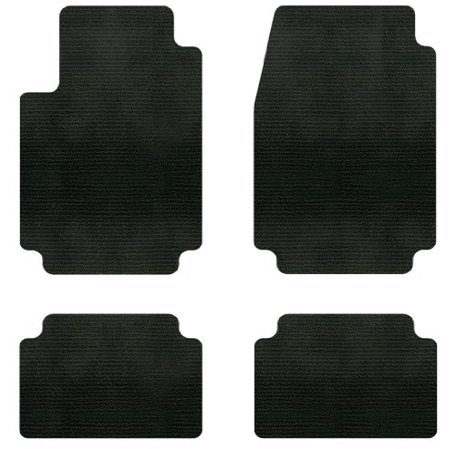 Intro-Tech Berber Custom Fit Floor Mat - (Black), Pack of 4